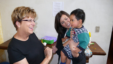 Leo meets Grandma Susie