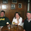 Dick, Beth and me at the Electric Company, a great restaurant and bar in Eugene