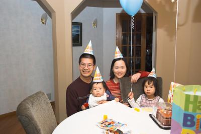 Nolan's First Birthday, December 2008