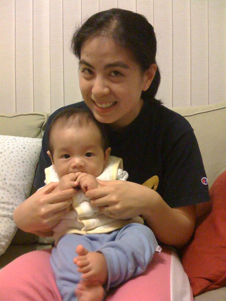 2008 11 25 Tue - Elias & Audrey Wu 1