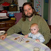 Eric and Quin playing cards