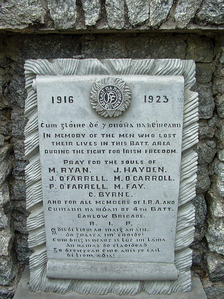 IRA memorial-Ballmurphy