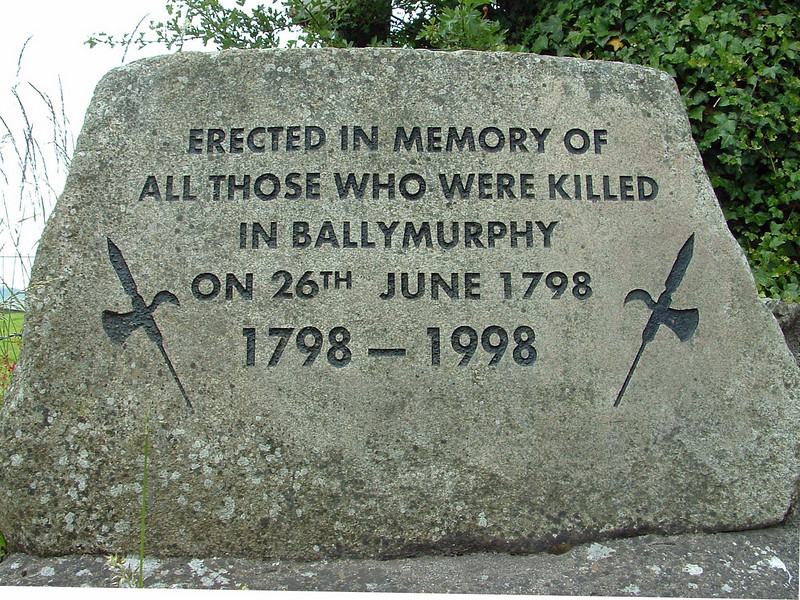 memorial Stone-Ballymurphy-Irish Freedom