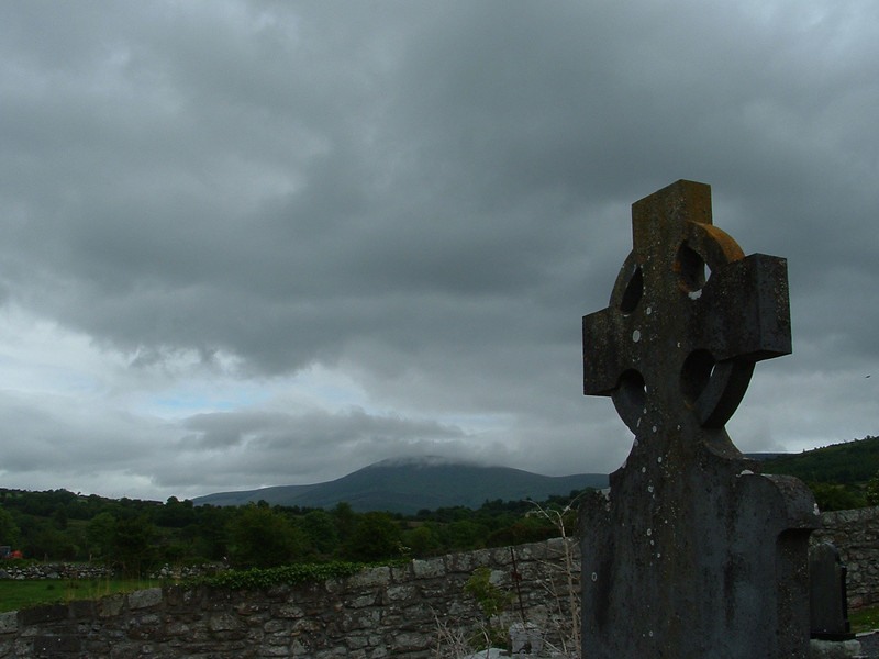 Forbidding Churchyard- ballymurphy