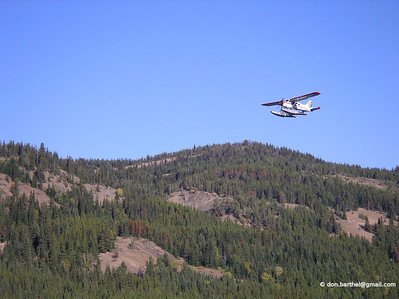 Float plane service to Spruce Lake.