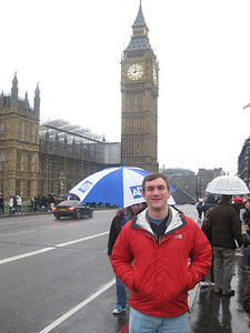 Morgan Bellmor & Big Ben In London • Bellmor's London GTHOOD December 2009