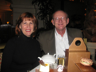 Ann & Russell Bellmor @ Landmark Hotel Tea London • Bellmor's London GTHOOD December 2009