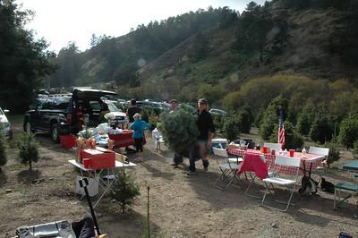 Christmas Tree Tailgate 2009