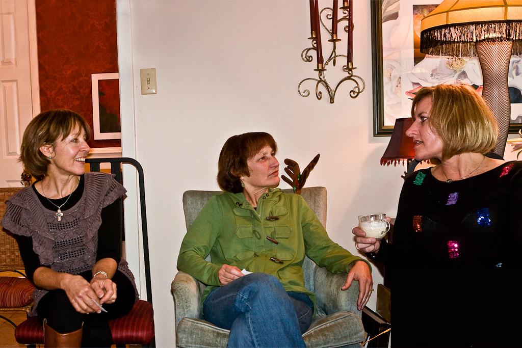 Three sisters, Elaine, Diane & Judy