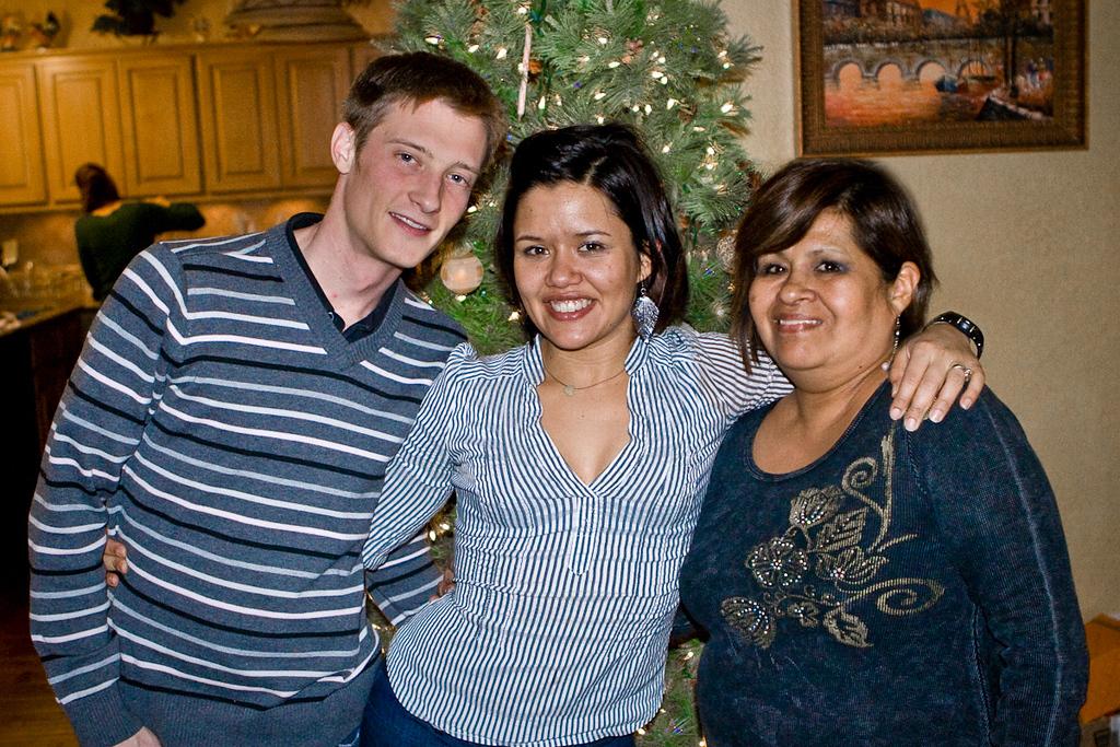 Justin, Juanita, Alicia