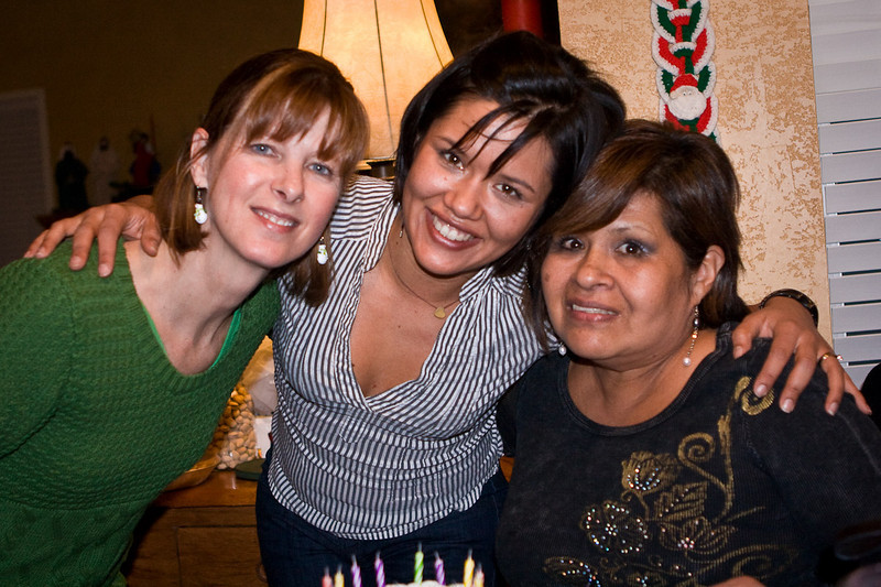 The girls.<br /> Mary (Justin's mom), Juanita and Alicia (Juanita's mom)