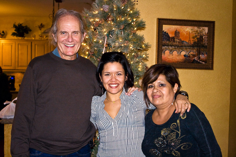 Juanita and her parents, Milton & Alicia