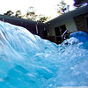 Tidal wave in the pool