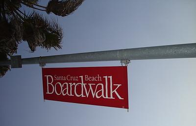 On the Santa Cruz Boardwalk, Saturday, April 11th