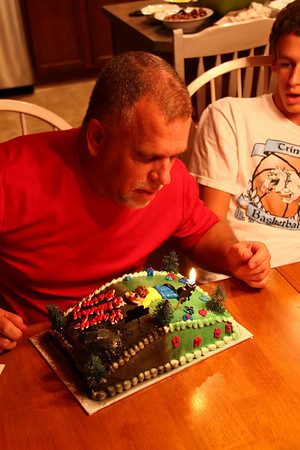 2009 July - Barry's 50th Birthday