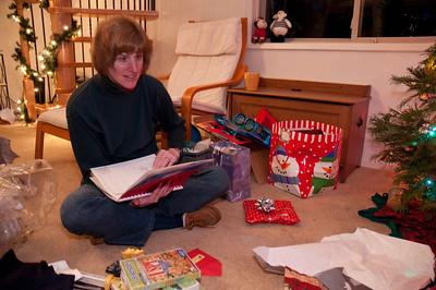 Gavin's gift to Kathy