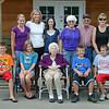 Grandma and Sue's family.