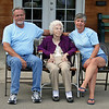 Grandma and John and Cathie, the Bettie Boop Group!