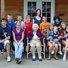 Grandma and her great grandchildren. Some are great great grandchildren