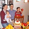 Etty, Dennis, Ingo and Gavin, at Ingo's 100-day celebration.