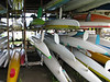13  lots of canoes and parts