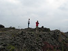 2  Don and Glen  on lava field