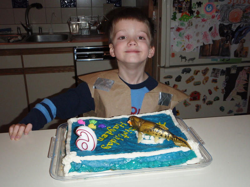 Hayden is 6!