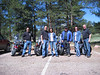 Motorcycle ride up past Woodland Park with Chris Layton, Vonn and  Myriam Black, Me, Kevin and Janice Rust