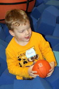 Hayden with Ball