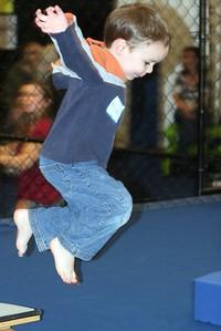 Micah Jumping
