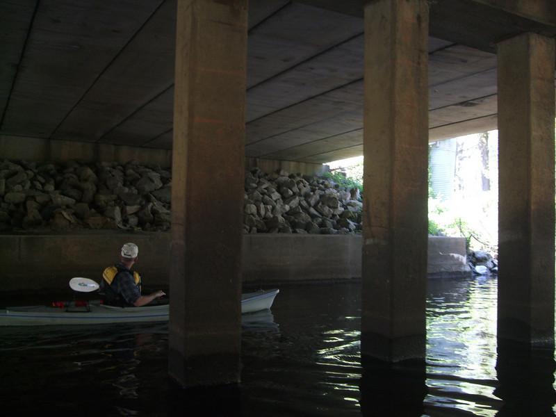 Virginia Blackwater River canoe trip with DCR