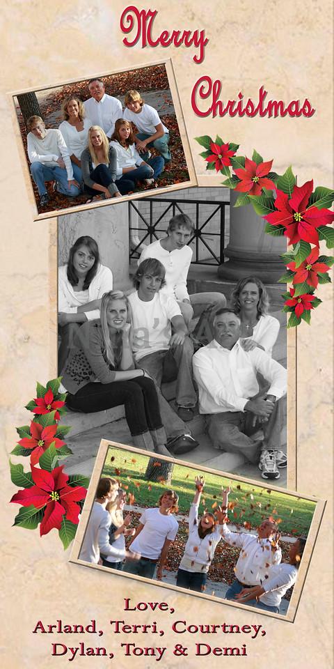 4x8 christmas card