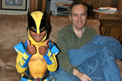 Wolverine and Dad