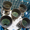July 13, 2009 -- Credit -- Connor Steele.  The engines for stage 1 of Saturn Rocket.<br /> <br /> Image from Connor and Dad's trip to the Kennedy Space Center (KSC) for the launch of the Space Shuttle Endeavour.  It was ultimately postponed due to weather.