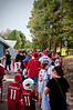 (8.8.2009, Flagstaff, Arizona) Images from Connor and Dad's visit to Cardinal's pre-season training camp.  The line to get into the autograph session.