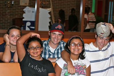 Drew, John, Jackie, Liz and Landii at St. Philip VBS