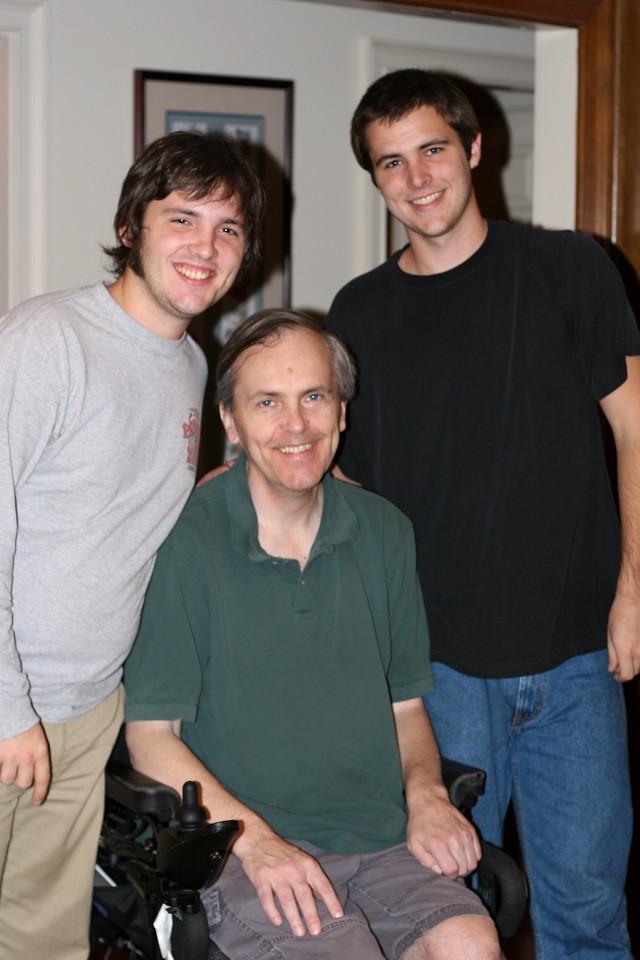 Frank, Drew and John