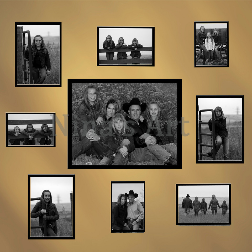 Frink Family  Wall bw copy