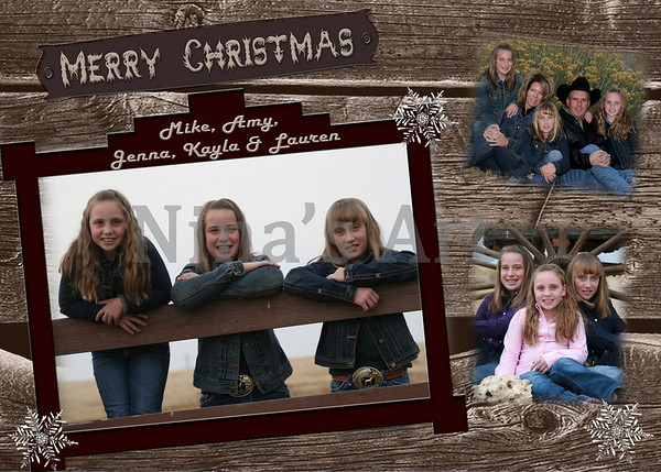 Christmas card 5x7new