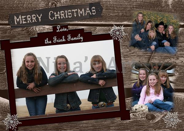 Christmas card 5x7
