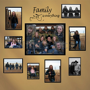 Frink Family wall wit saying