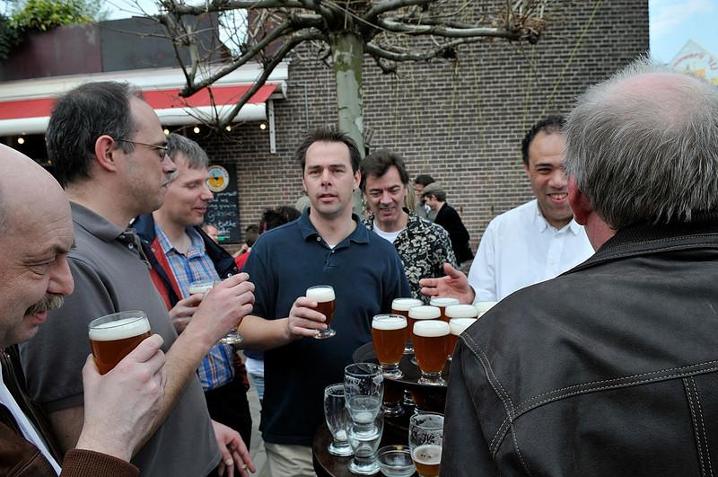 Piet, Ralf, Henk, Petrick, Gerard, Gabe and Henk