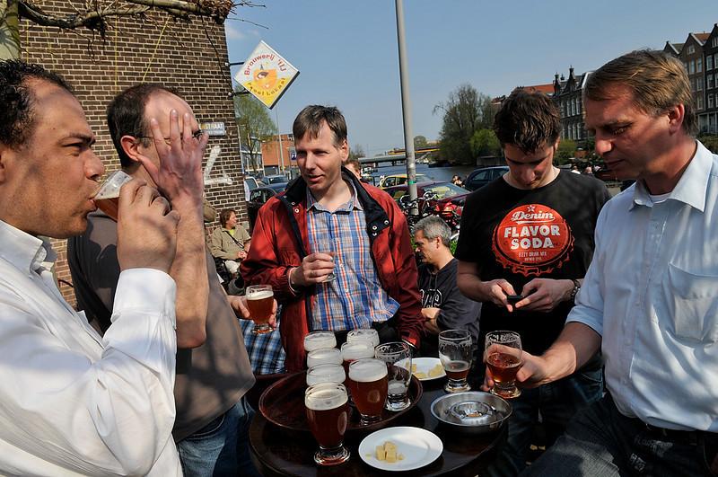Gabe, Ralf, Henk, Johan and Timo