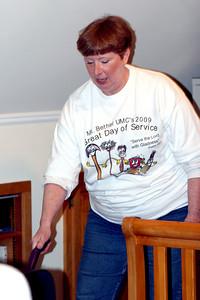 Dianne vacuums