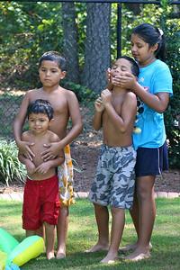 Jesus, Alberto, Miguel and Jackie