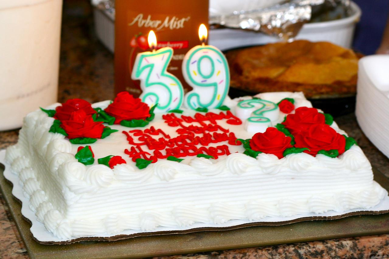 Heather's bithday cake