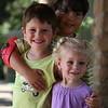 No Jardim Botanico de Fort Worth - Daniel, Leo e Olivia
