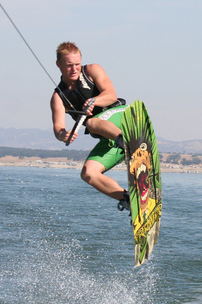 Nathan Roth @ San Antonio Lake July 2009
