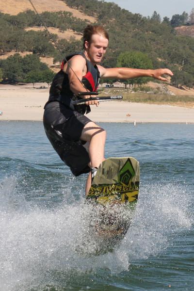 Grady Roth @ San Antonio Lake July 2009