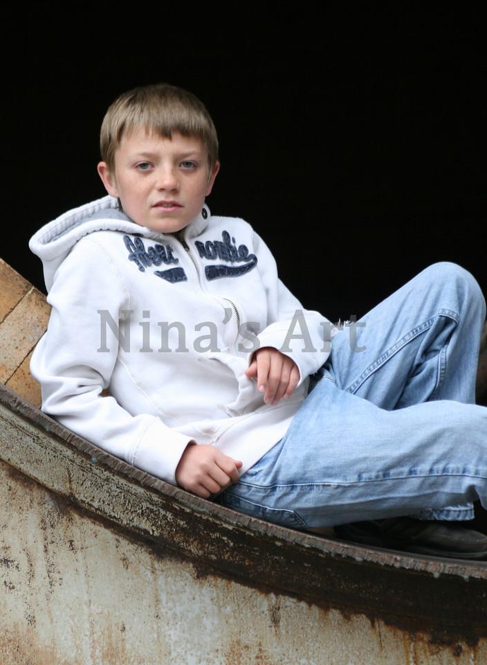 Tanner Sitting 2